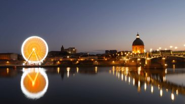 Garonne et Pont Saint Pierre Toulouse